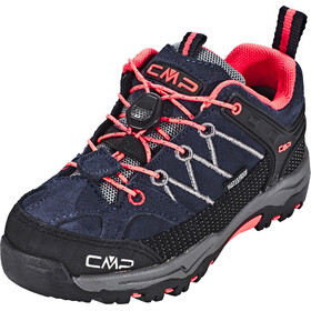 CMP Campagnolo Rigel Low WP Trekking Shoes Kinder antracite-red fluo
